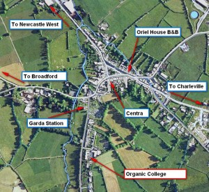 Aerial Map of College